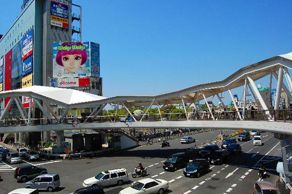 天王寺駅前・阿倍野歩道橋